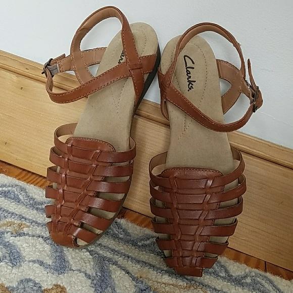 d4aa1d22171bcb Jana Rouge Leather Gladiator Sandal